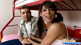 Babysitter Wants A Meaty Dick - adriana nevaeh