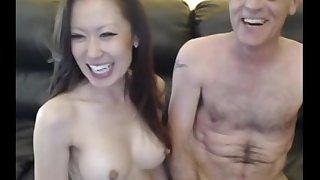 Rika And Jasson On Webcam - bungling sexual connection