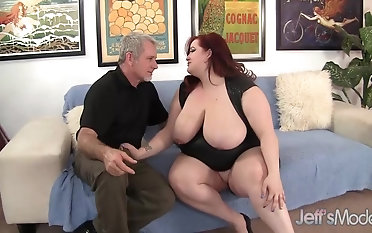 Yam-sized titted plumper Eliza Allure Devotes Her snatch and hatch to a firm meatpipe